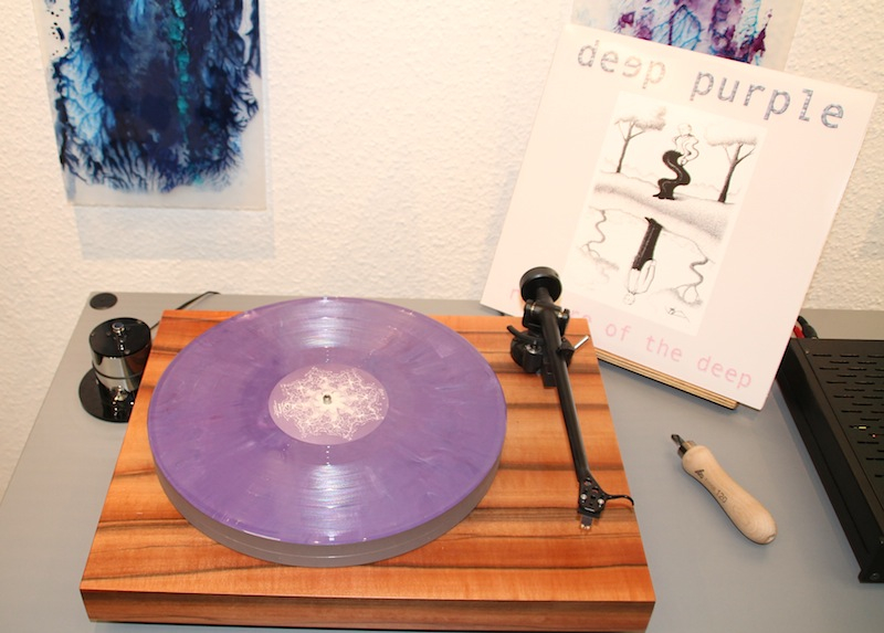 Coloured Vinyl Deep Purple