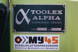 Toolex Alpha My45