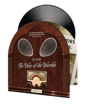 Wells War Of The Worlds 180g LP