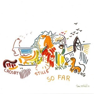 Crosby Stills Nash And Young So Far 2019 Vinyl