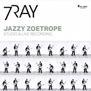 7RAY Triple Ace Jazzy Zoetrope Vinyl