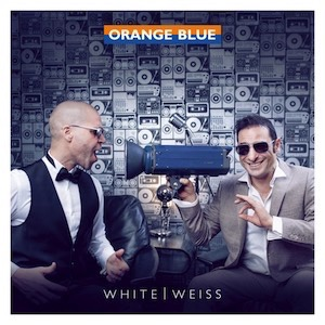 Orange Blue White Weiss Vinyl